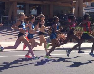 Elite women runners!