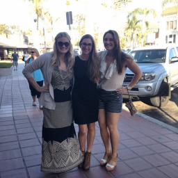 College friends reunited in La Jolla.